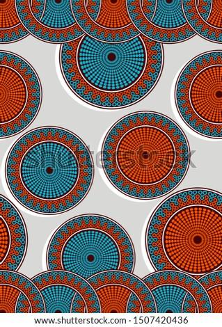 circle african fashion seamless