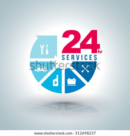 circle arrow step services  24