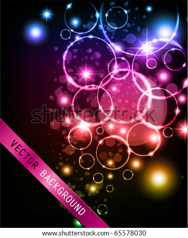Circle Background. - stock vector