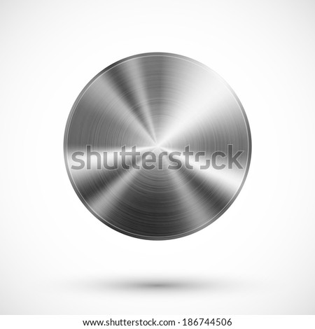 circle button vector template