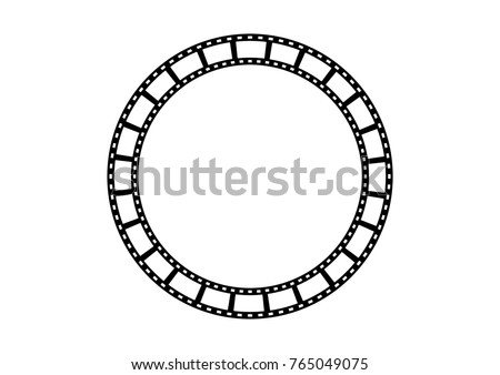 circle film strip