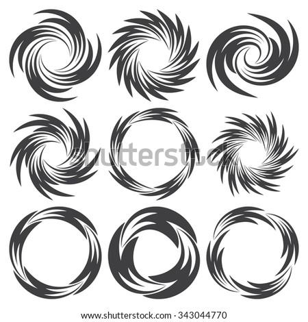 circle frames set round