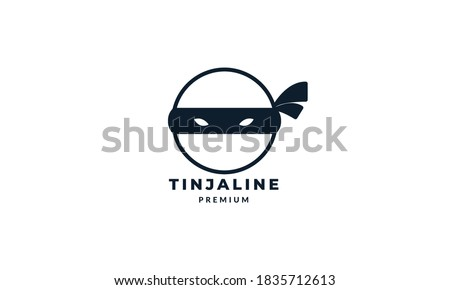 circle head ninja lines