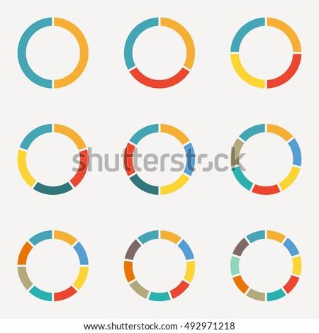circle infographics concept