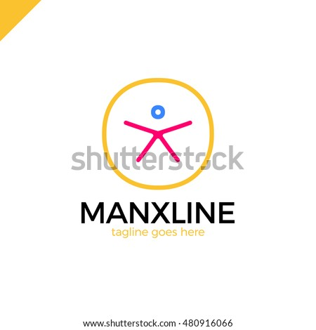 circle initial line letter x