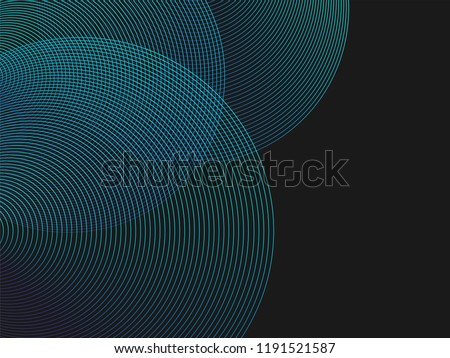 stock-vector-circle-lines-overlay-pattern-in-blue-green-color-isolated-on-black-background-for-design-elements