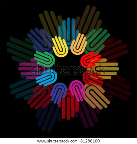 circle of hand, chain