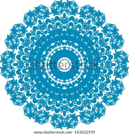 Circle ornament, EPS8 - vector graphics.