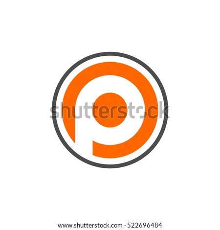 Royalty Free Stock Photos And Images Circle P Letter Logo Template