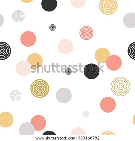 circle pattern modern stylish