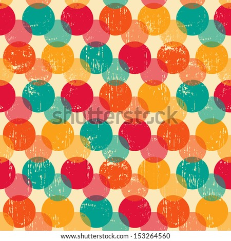 Circle seamless pattern.Seamless pattern can be used for wallpaper, pattern fills, web page background,surface textures. Gorgeous seamless background