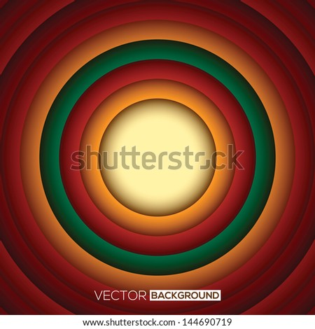 circle shape abstract background