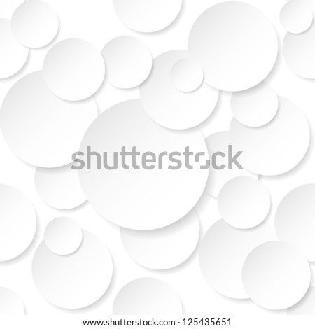 Circle Stickers. Illustration on white background for design