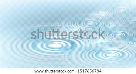 Circle water ripple wave surface background