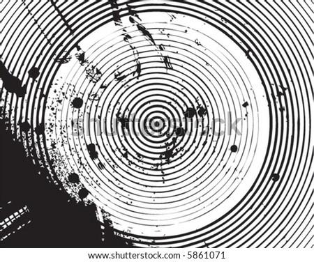 Circles and Ink Grunge #5861071