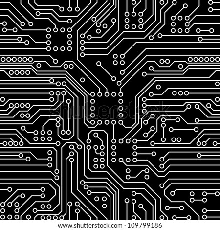 Circuit Vector Wallpaper Circuit Board