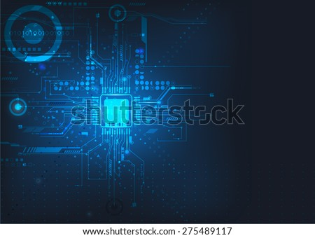 circuit board design background