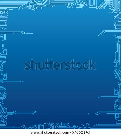 Circuit board frame