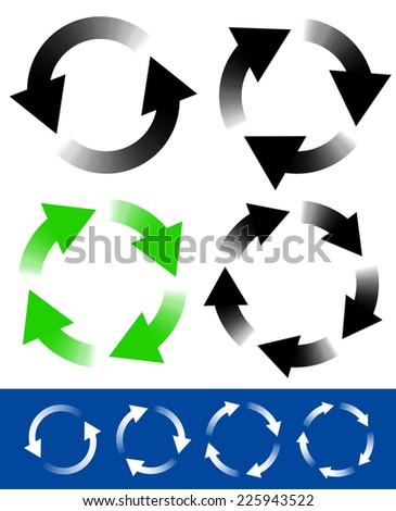 Circular arrows #225943522