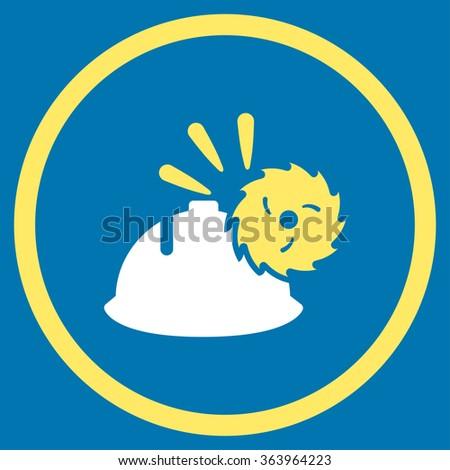circular blade head protection