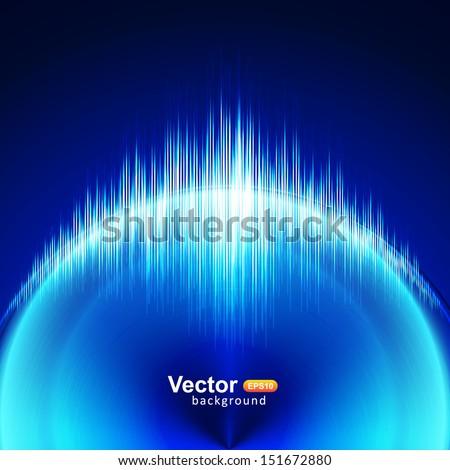 Circular blue equalizer