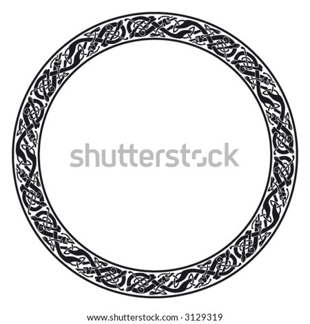 Vector flower circle free vector download 15704 Free