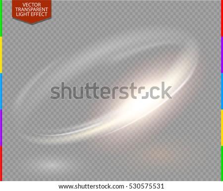circular flare transparent