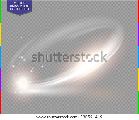 circular lens flare transparent