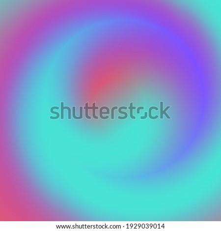 Circular multicolored gradient. Unusual background. Cover design, banner. EPS vector.