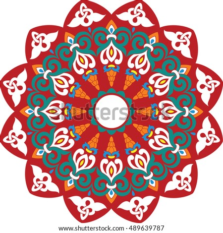 circular ornament ii