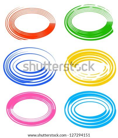 Circular Shapes Vector