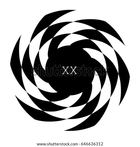 circular spiral element