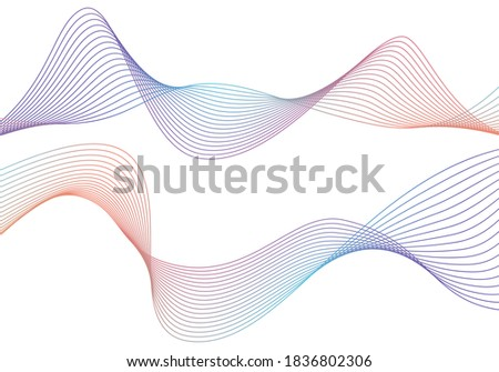 Circular Wireframe mesh logo element. Vector Illustration EPS10 digital background posters circles lines effect. Design pattern for promotion, business and marketing new product, cover page layout Photo stock ©