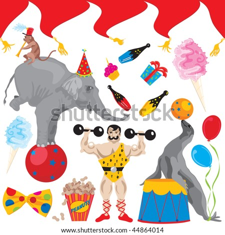 Circus Birthday Party Clip art