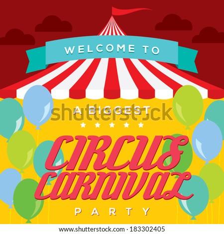 Circus Carnival Poster Template