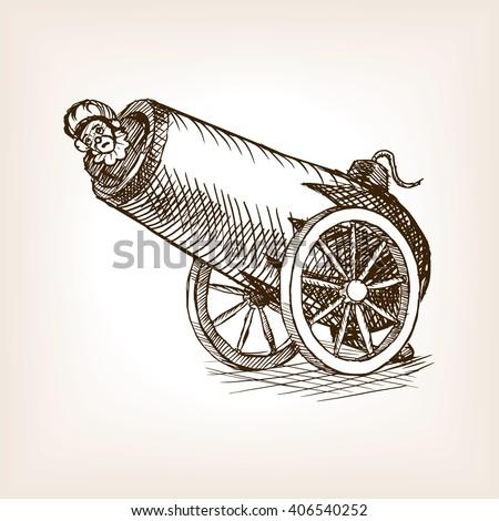 circus human cannon sketch...