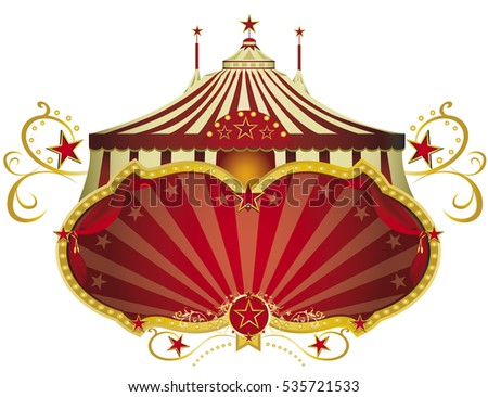 Vintage Circus Poster - Download Free Vector Art, Stock Graphics ...