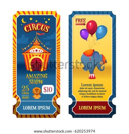circus tickets circus tent at