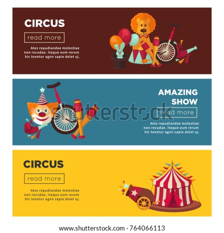 circus with amazing show