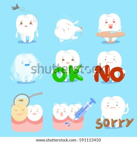 cite cartoon tooth do different