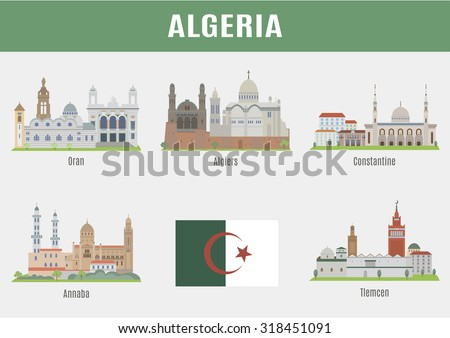 cities in algeria