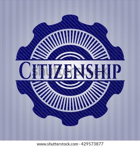 Citizenship jean background
