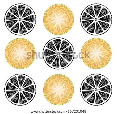 Vector Lemon Pie Illustration