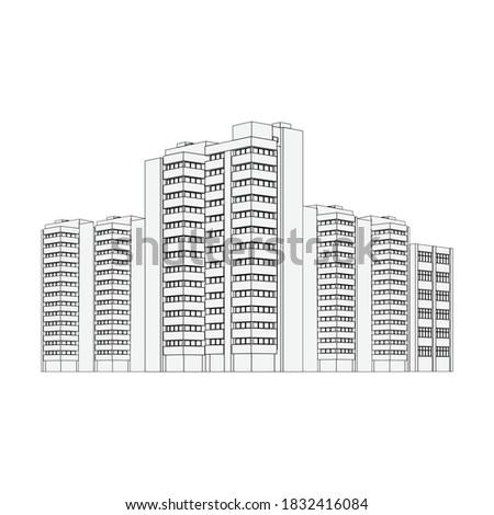city architecture apartment
