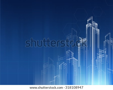 city background architectural