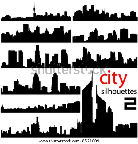 city background 2 vector