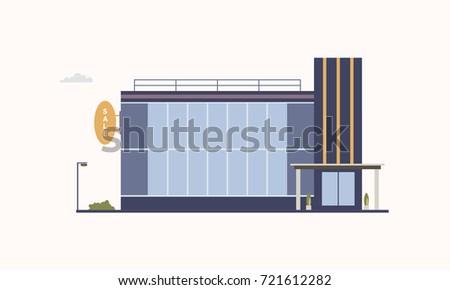 city building of trade center