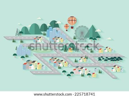 city  cityscape  city skyline