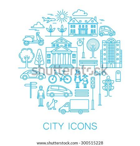 city design elements linear