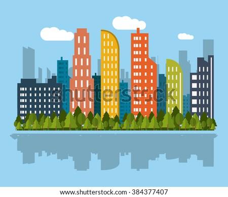 city icon design